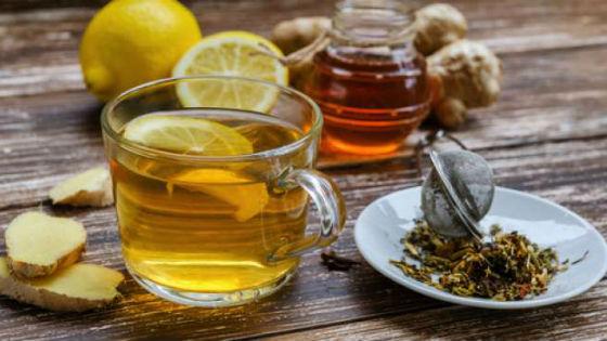 Чай с лимоном и имбирем для укрепления здоровья
