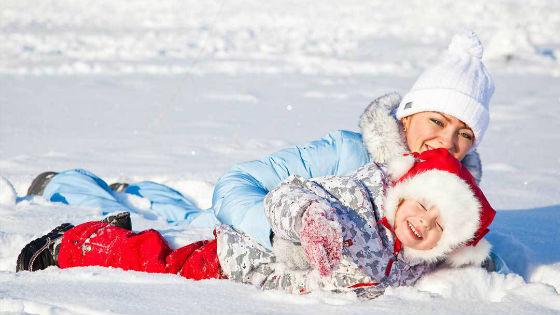 Зимние прогулки отлично укрепляют иммунитет