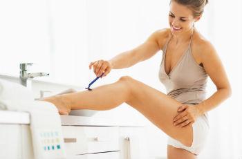 Раздражение после бритья на ногах: как быстро убрать, покупные и домашние средства