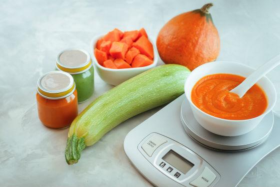 Для удобства измерения порций используют кухонные весы