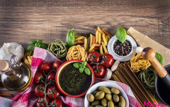 Продукты, разрешенные на средиземноморской системе питания