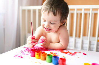 В каком возрасте ребёнок знает цвета