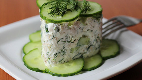 Легкий салатик Леди