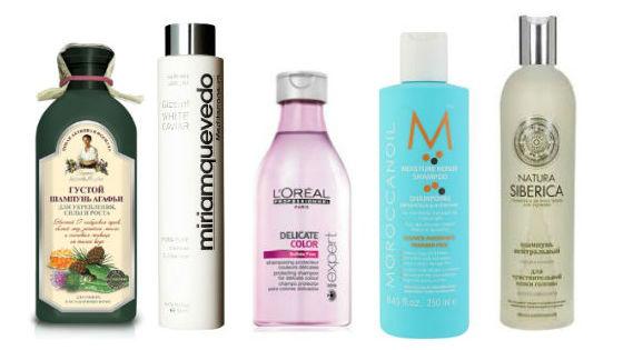 Лучшие шампуни для высушенных волос