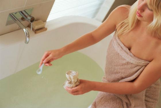 Приготовление лечебных ванн от кандидоза дома