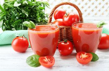 Как самому сделать томатный сок из помидор 820