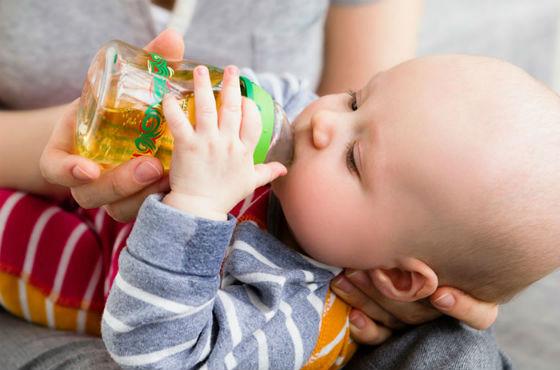 Введение соков в прикорм грудничку