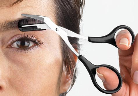 Коррекция бровей в домашних условиях, методы и способы