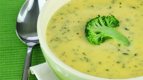Овощной суп-пюре с капустой