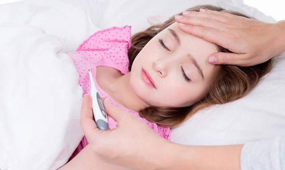 Температура у ребенка при лямблиозе