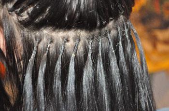 Нарощенных волос в домашних условиях укладка