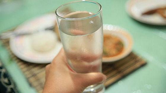 Употребление воды перед приемом пищи