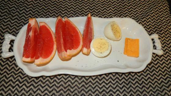 Быстрая яично-грейпфрутовая диета для похудения
