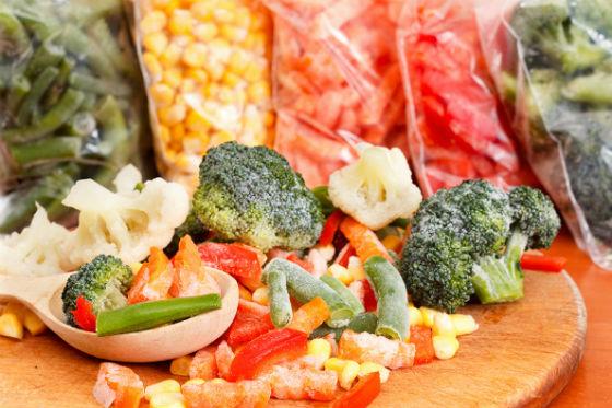 Домашние замороженные овощи для приготовления пюре