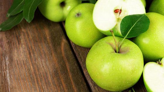 Разгрузку лучше проводить на зеленых яблоках