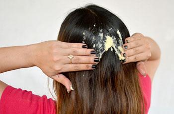 маска с желатином для роста волос